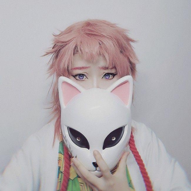 Photo of Sabito Demon Slayer Kimetsu no Yaiba Fox Mask