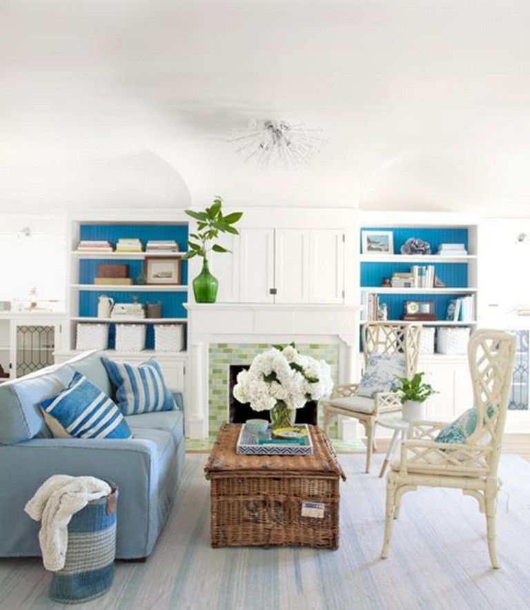 30+ Remarkable Coastal Decorating Ideas For Living Rooms Living