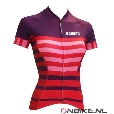 Davanti bikewear Dames Alpha Collectie Fietsshirt