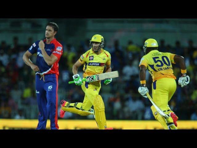 DD vs CSK IPL 2015 Live Match Highlight - Chennai Super Kings Vs Delhi Daredevils- 9/4/2015 - IPL 8
