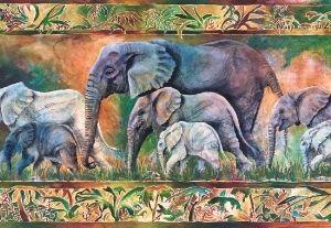 15,50 € Parade of Elephants, 1000 palaa