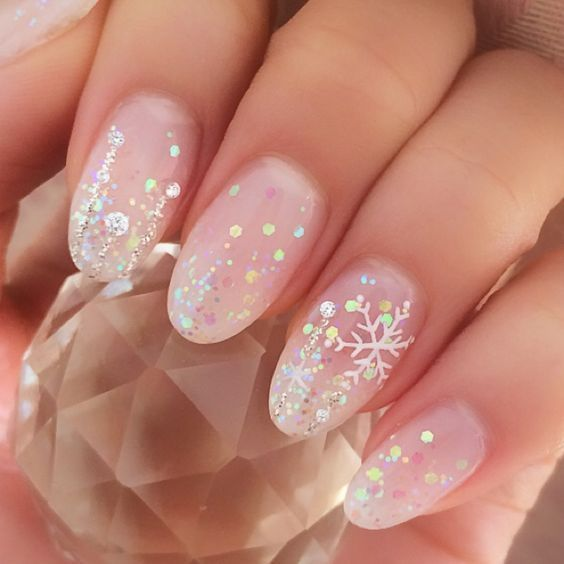 47 erstaunliche Schneeflocke Nail Art Designs für Weihnachten und Winterurlaub#fashionmodel #fashiondaily #fashionbags #fashionicon #fashionpria #weddingvenue #weddingrings #weddingshoes #weddingbandung #weddingvibes #nailtechnician #interiordesignideas #floraldesign #holidaynails