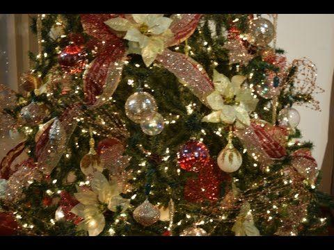 Navidad 2015 Decoracion Arbol De Navidad Youtube Decoracion Arbol De Navidad Decoracion De Arboles Arbol De Navidad