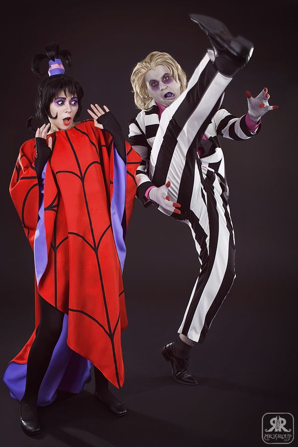 lydia and beetlejuice lydia deetz cartoon costumes