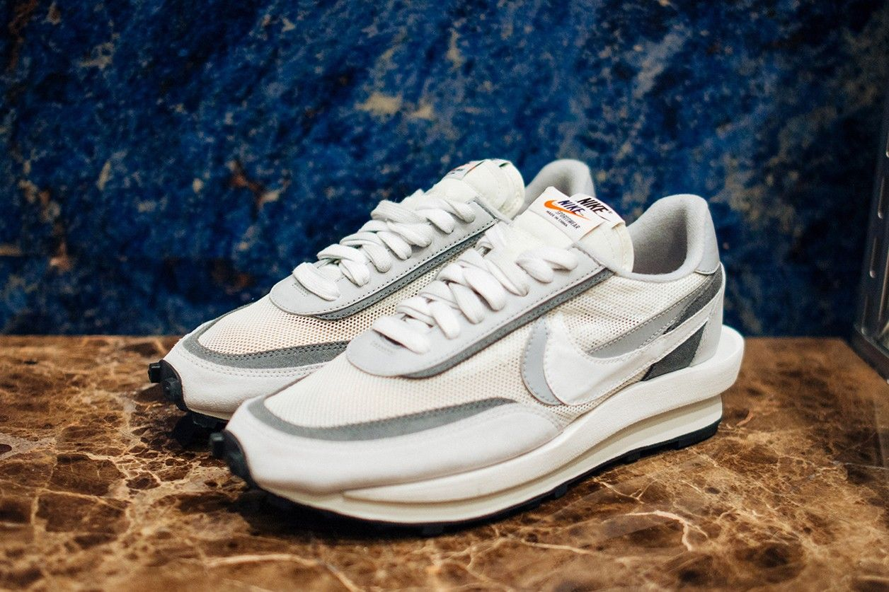 ballet agrio autobús  A First Look at sacai x Nike Blazer & Waffle Daybreak In