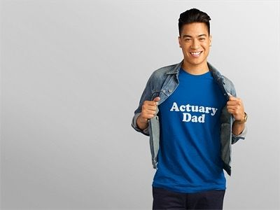 Today's Father's Day shirt is a smart one ! Are you an actuary and a proud dad ? Manager of risk and children ? Show off your actuarial prowess  with this tee or purchase it for your favorite actuarial dad! Makes a great gift for Father's Day!  - Available on Amazon Prime in multiple styles sizes and colors. Check it out! Link in bio.  - : @placeitapp - - - #actuary #actuarylife #actuarialscience #math #mathematics #mathisfun #dad #dadlife #dadshirt #dadshirtswag #fathersday #fathersdaygift…