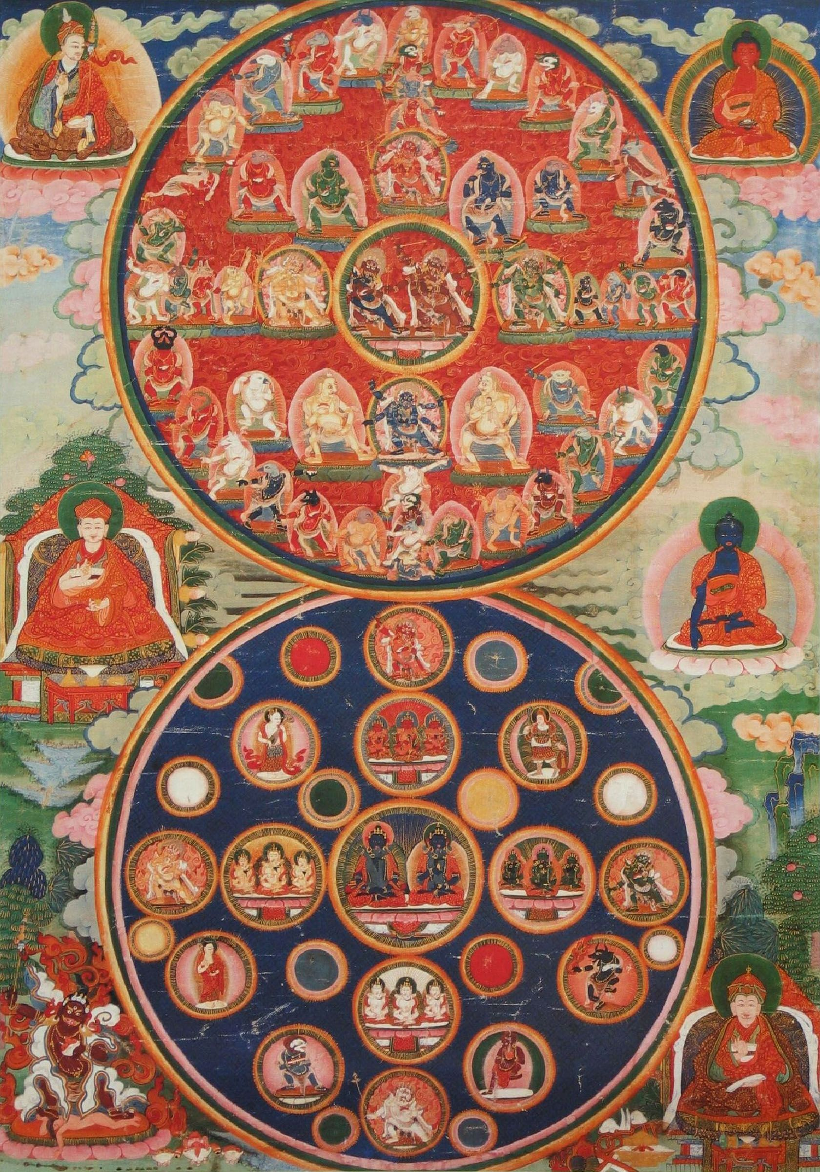 Buddhism twelve examples of illusion book by jan westerhoff tibetan buddhist mandalas of peaceful and wrathful deities in the bardo buycottarizona