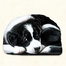 Fiddlers Elbow Border Collie Dog Pupper Weight Paperweight Decoration Usa Border Collie Puppies Dog Lovers Christmas Collie Puppies