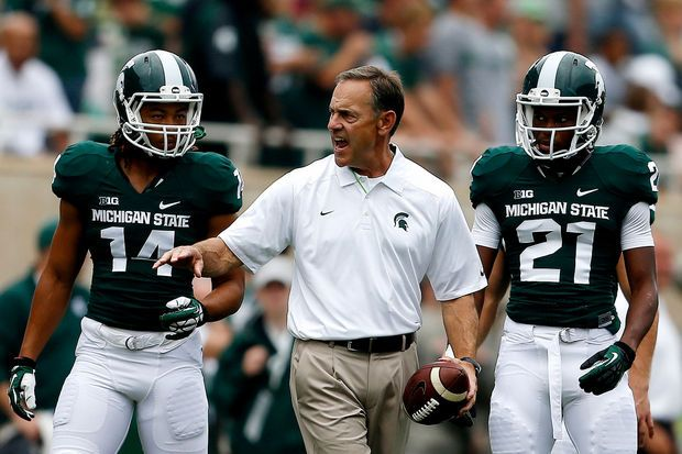 Michigan State Defense Scores 2 Touchdowns Again Leads 21 6 Win Over South Florida With Images Michigan State Michigan State Spartans Football Msu Spartans Football