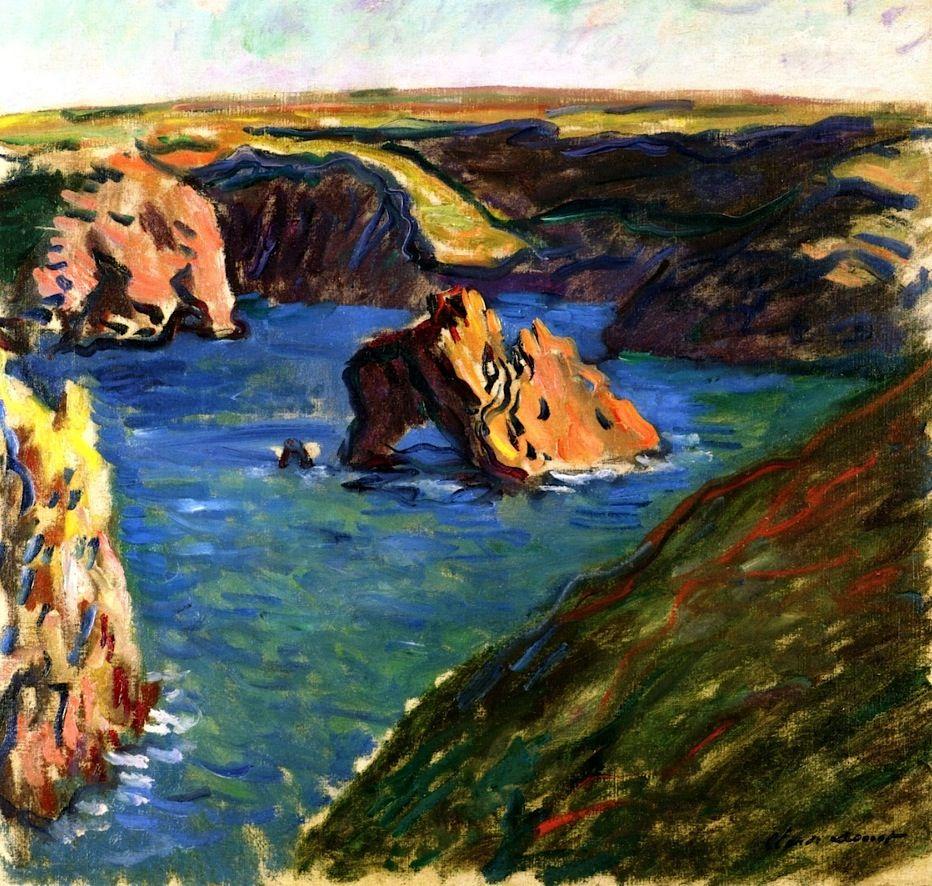Belle-Île / Claude Monet - 1886