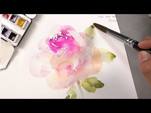 Painting With Watercolors For Beginners Jay Lee Youtube