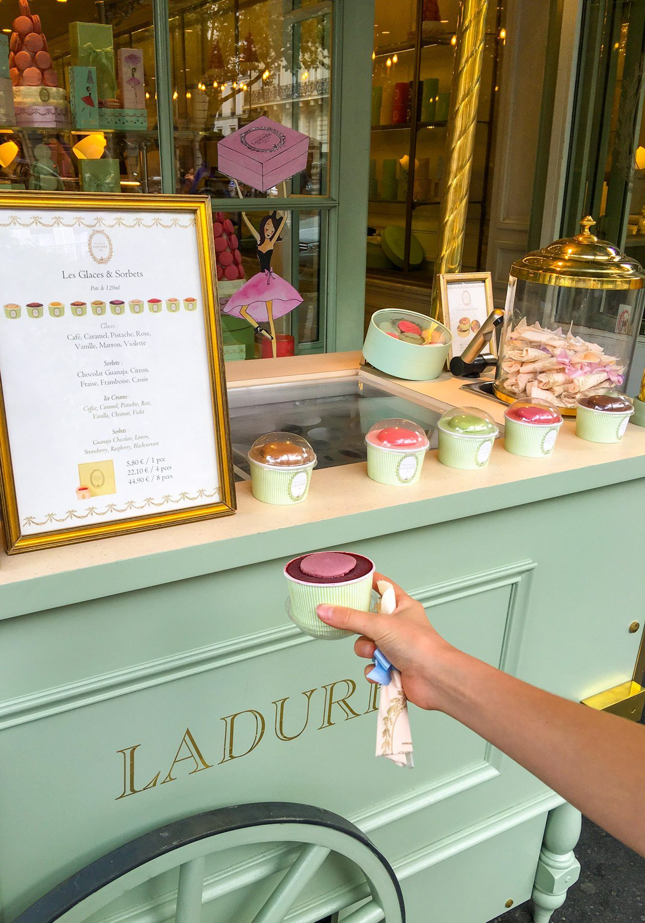 Reasons to Dine at this Ladurée Tea Salon in Paris #favoriteplaces