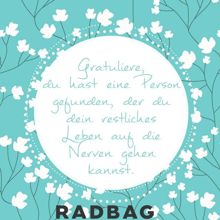 Glückwunsch-zur-Hochzeit-nerven - Der Blog von radbag ...