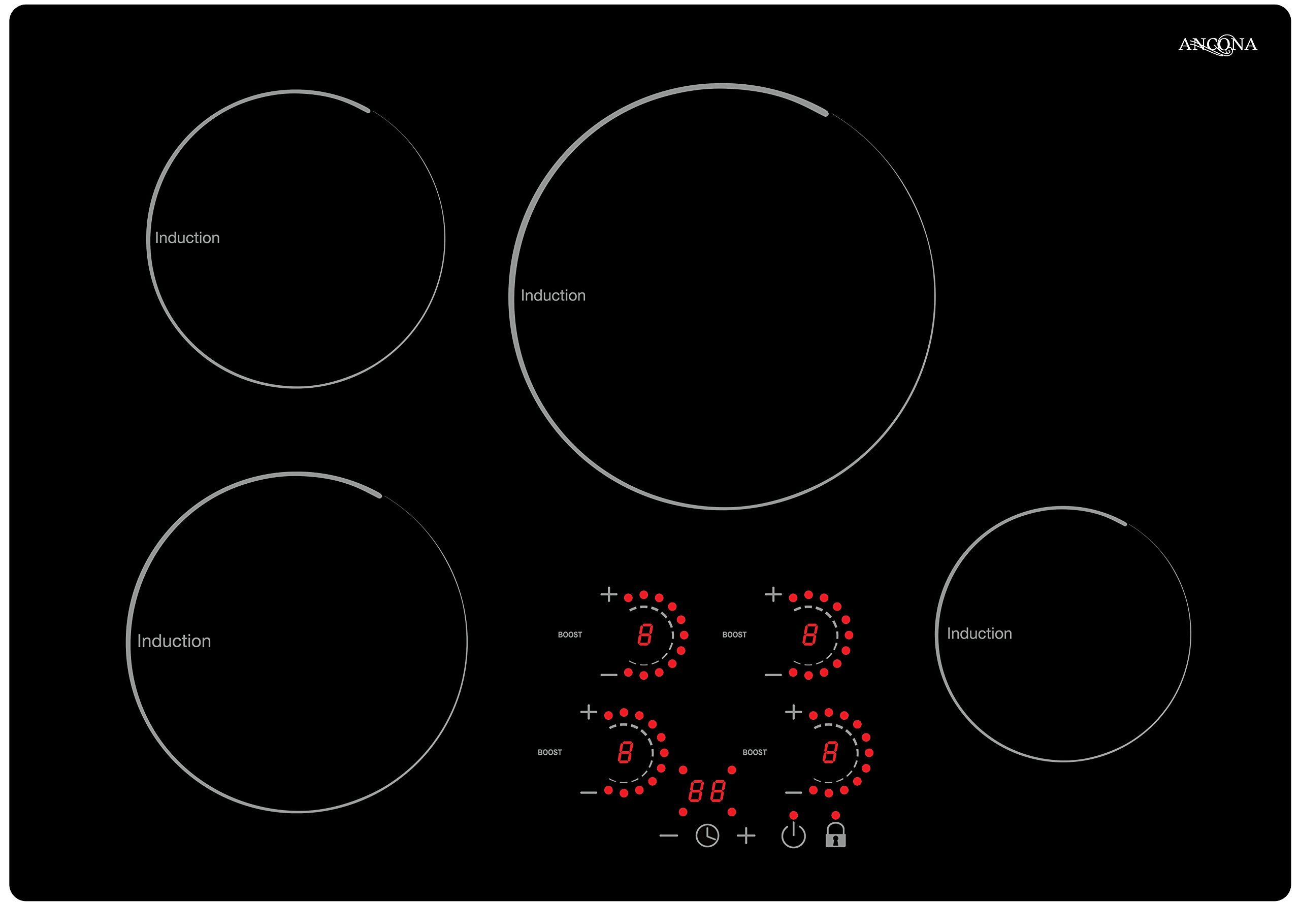 Ancona An2403 Radiant Induction 30 Cooktop Black Click Image To Review More Details This Is An Affiliate Link Ancona Cooktop Induction