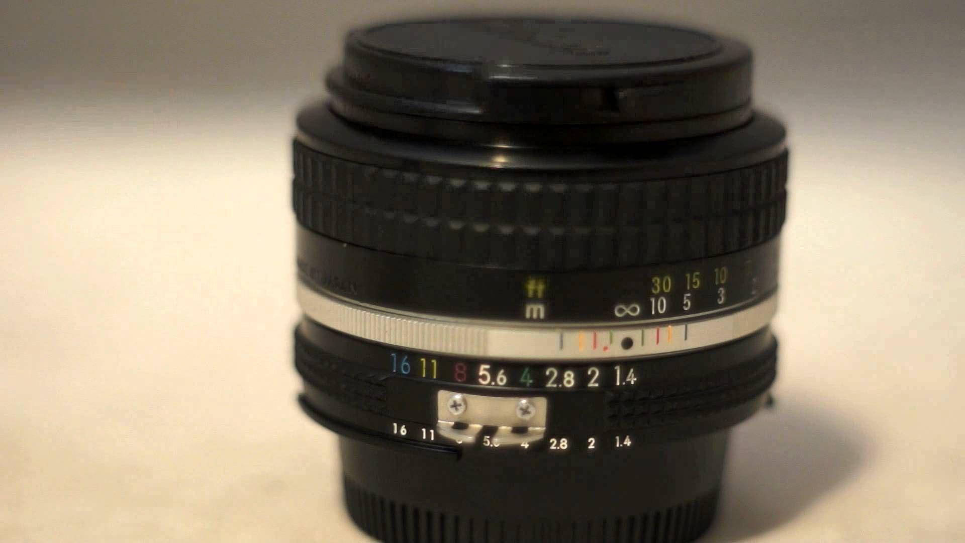 Nikon Nikkor 50mm F1 4 Ai Vintage Manual Focus Prime Lens Review Prime Lens Manual Focus Lens