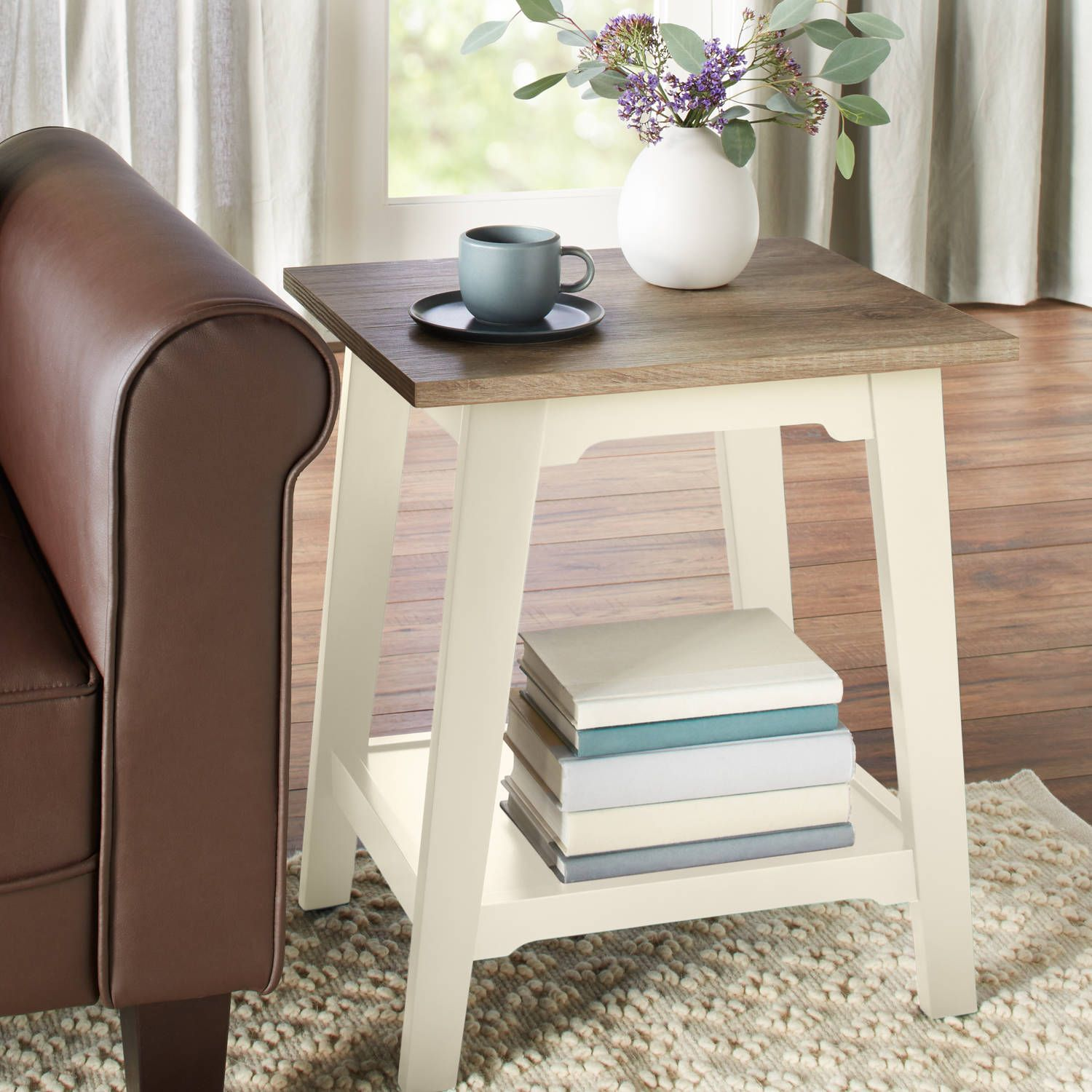 Best Home Wood End Tables Living Room Furniture Rustic 400 x 300