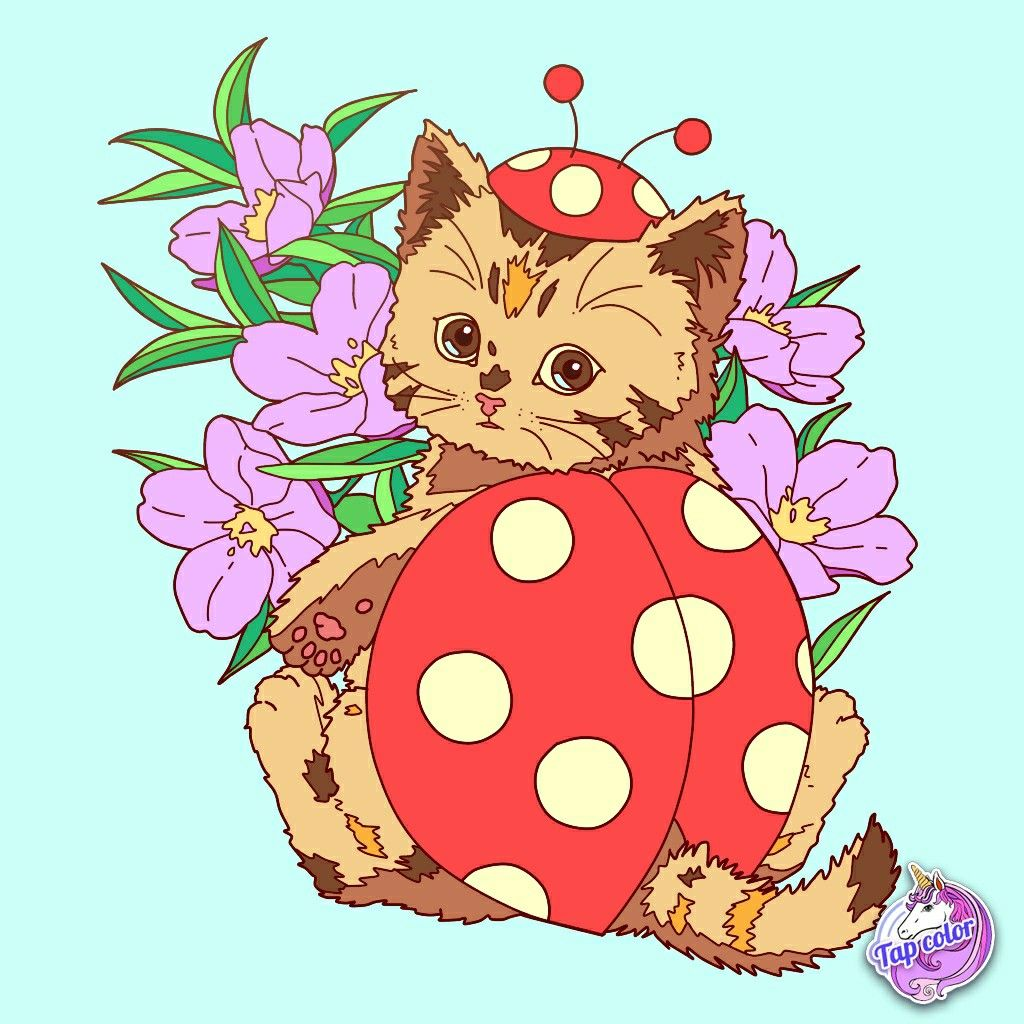 28+ Cat peach coloring pages ideas in 2021