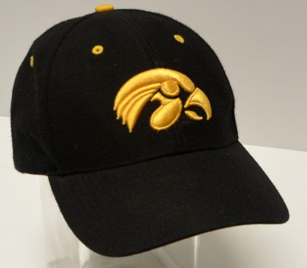 Iowa Hawkeyes Nike Adjustable Hat Ncaa Osfa Adjustable Black Yellow