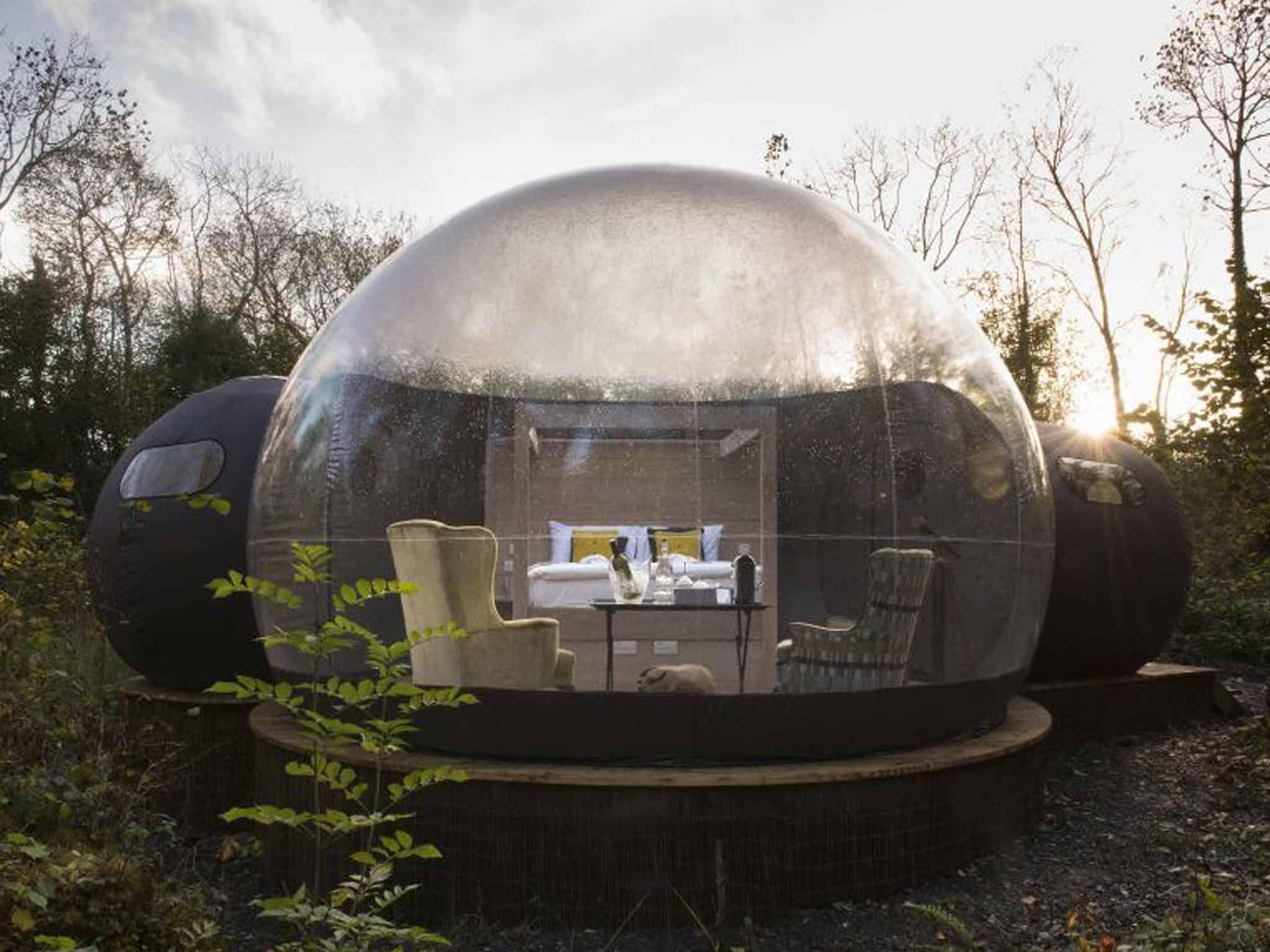 Result Peru Glass Pod Mountain Hotel Dome Room