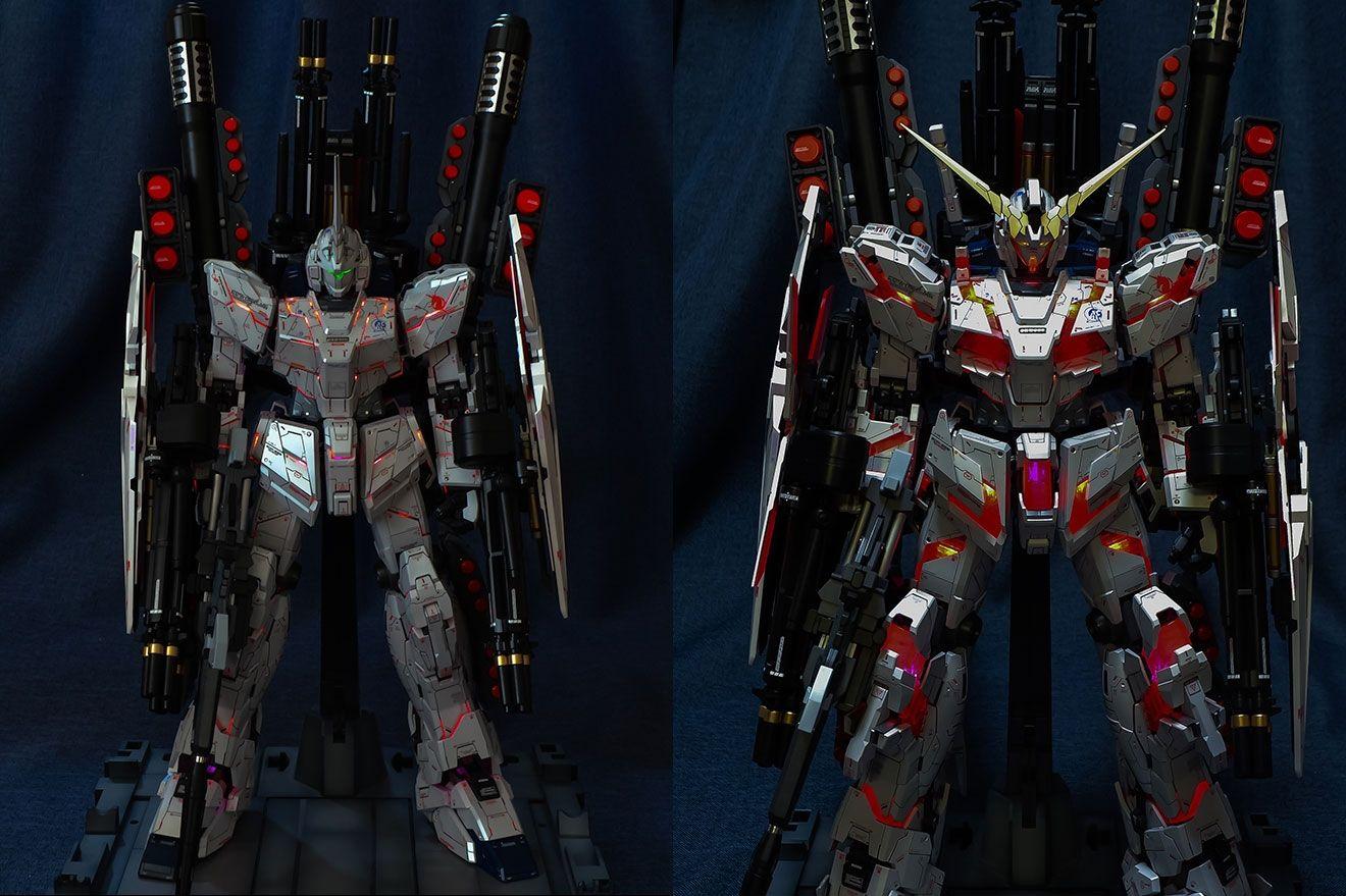 Custom Build PG 1/60 RX0 Full Armor Unicorn Gundam