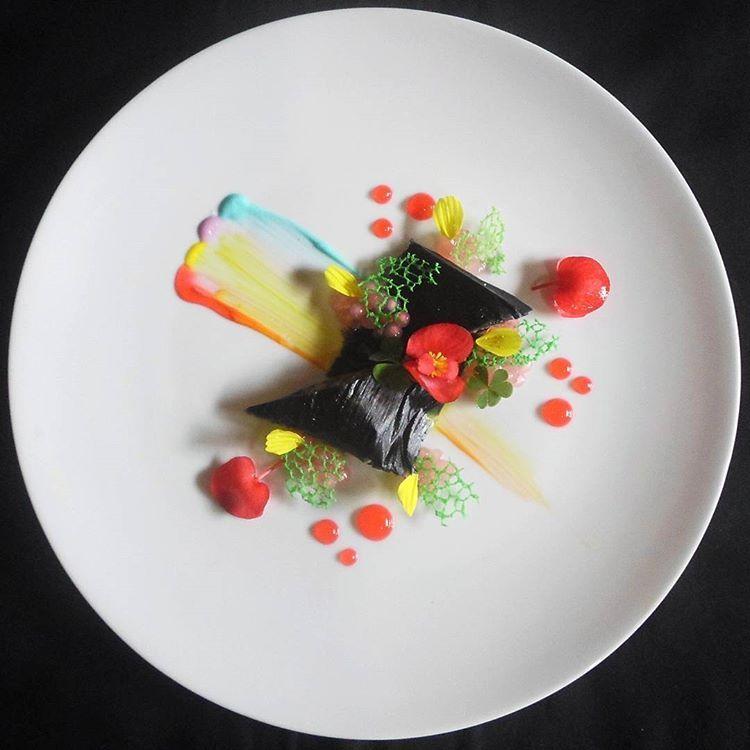 Pin Di The Art Of Plating Desserts