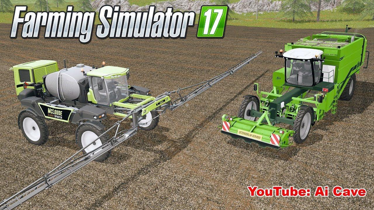 Farming Simulator 2017 Coolest Slurry Sprayer & Goofy Potato
