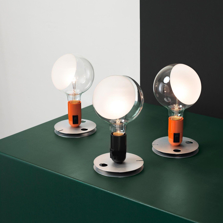Lampadina Table Lamp In 2020 Modern Table Lamp Table Lamp Flos