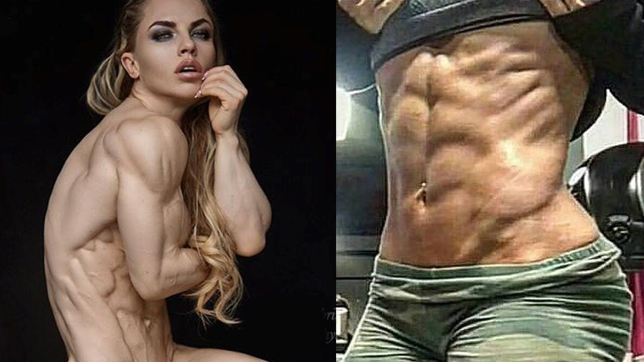 Image result for female fitness model six pack
