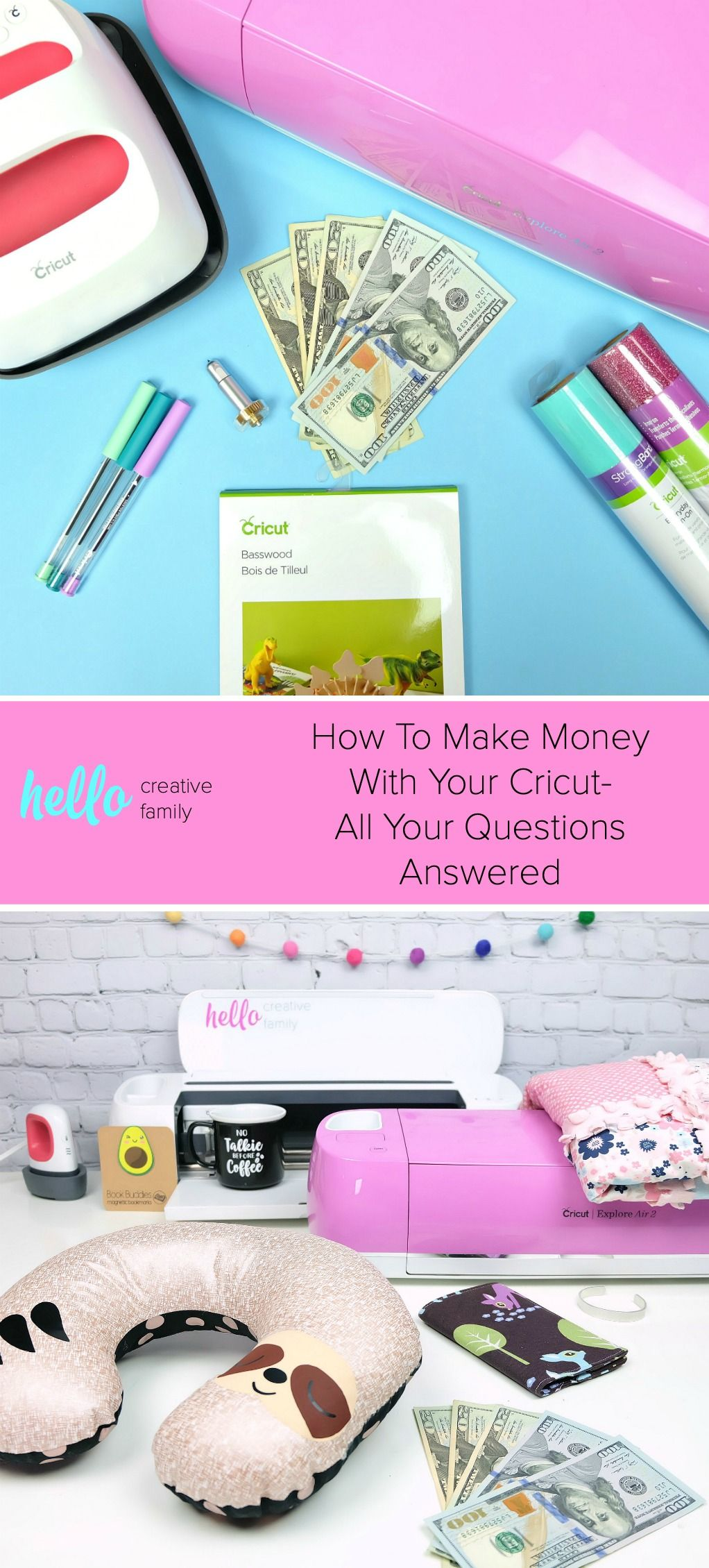 How to make money with your cricut all your questions