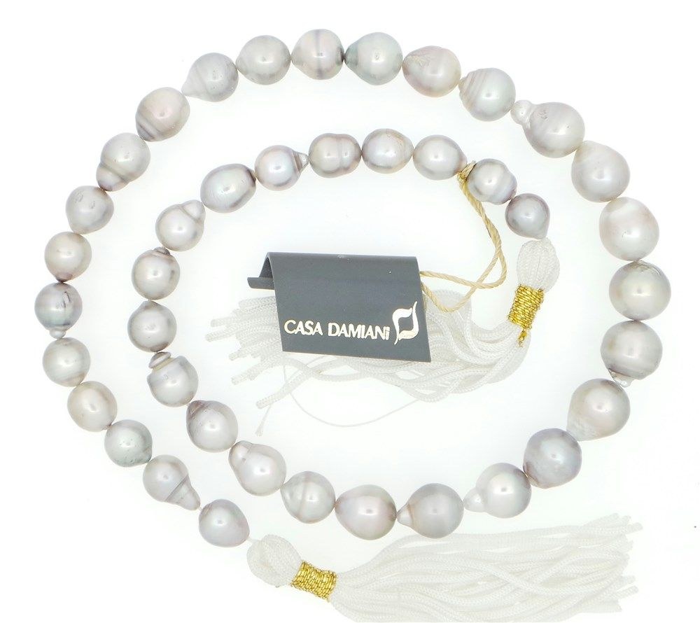 #necklace #jewelry Damiani  Filo di perle   #orafinrete