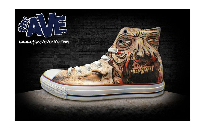 Walking Dead Converse All Stars. Very cool!