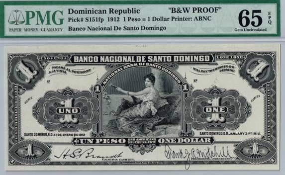 World Banknotes For Dominican