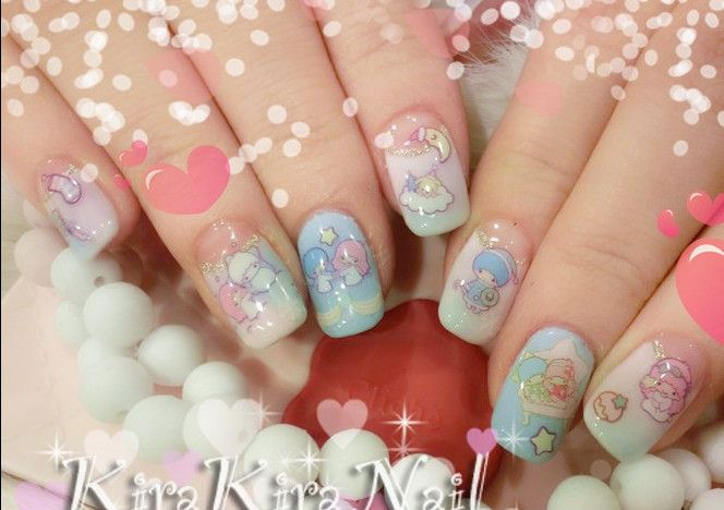 Nail decals stickers nail sticker watermark nail sticker watermark ...