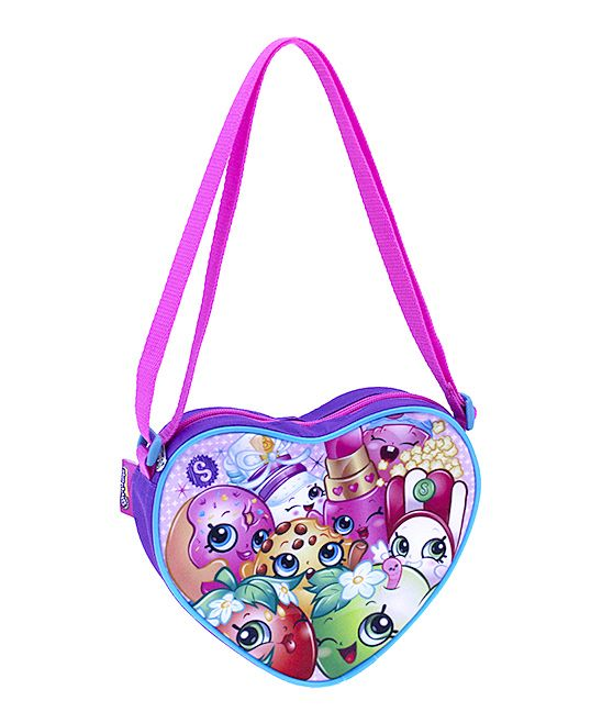 005f925776a Shopkins™ Purple Heart Crossbody Bag | Products | Bags, Crossbody ...