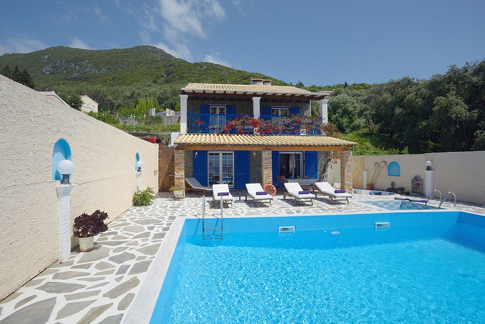 Villa of the week Armonia, Corfu corfu villa holiday