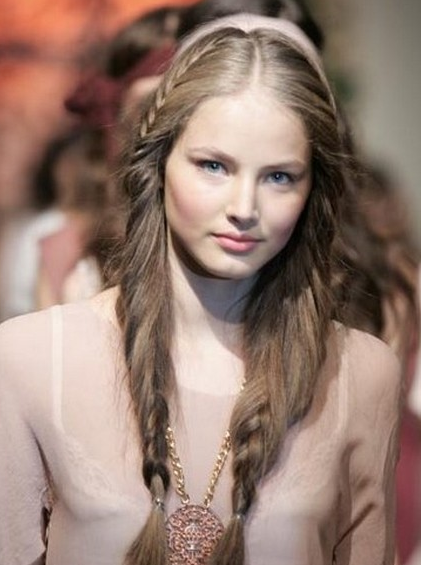 Long Hair Russian Hairstyle pictures, update your look