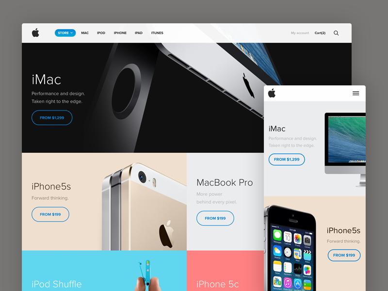 Apple Store Redesign Live Best Web Design Web Development Design Web Design