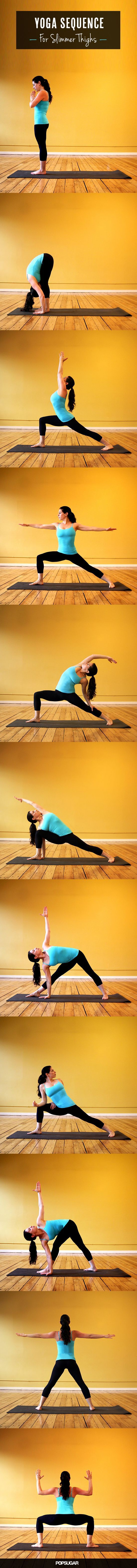 Yoga Sequence for Slimmer Thighs