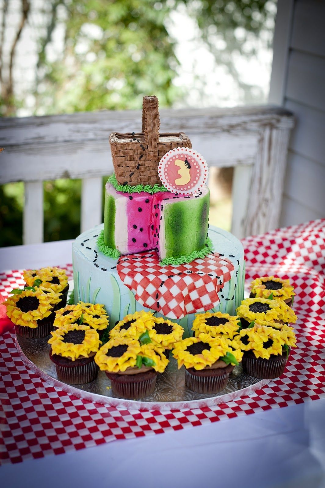 Picnic Themed Decorations Pin By Jara N Jessie Montano On Cakes In 2019 Pinterest