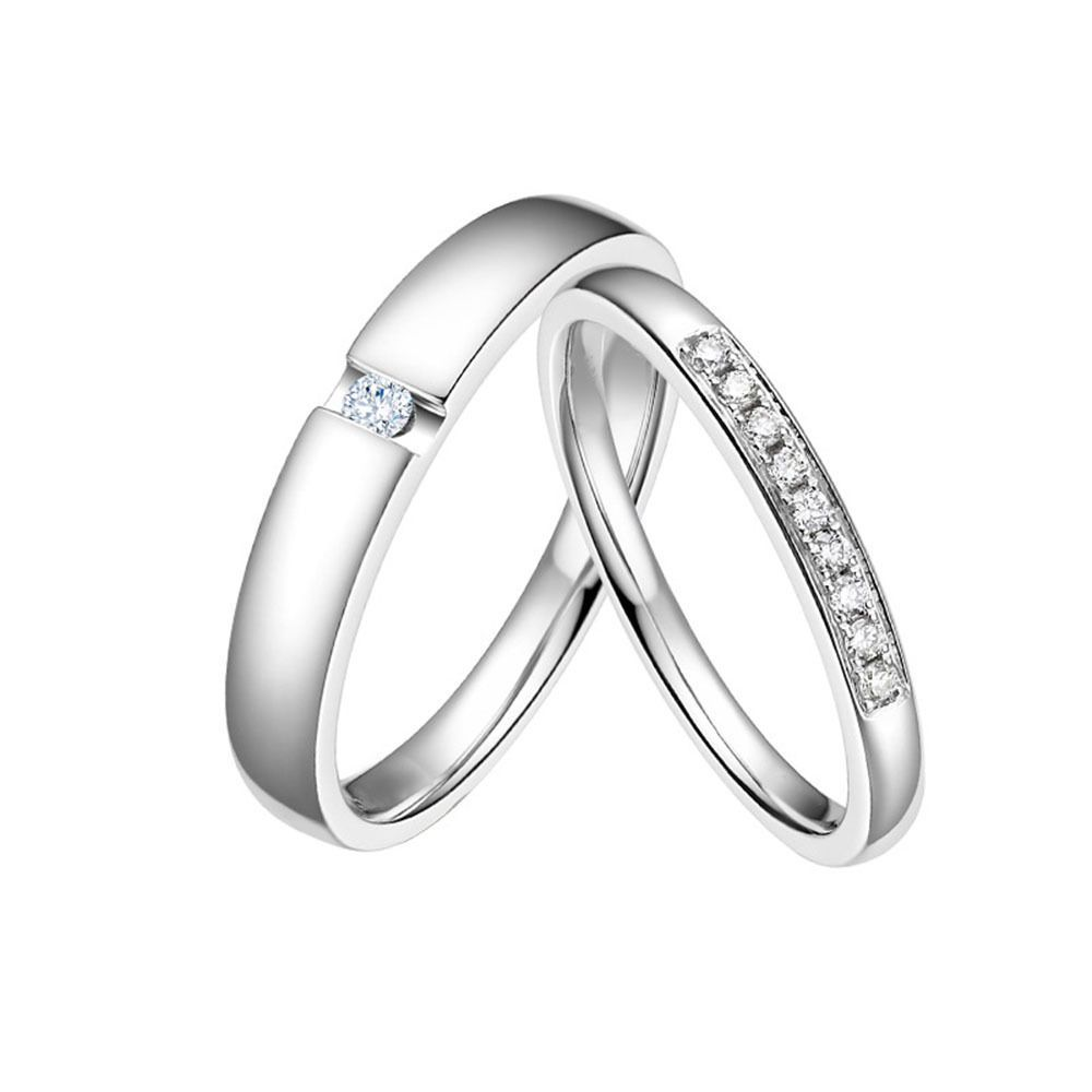 engagement gifts s men stainless promise bands cz item love valentine steel token lover ring diamond women