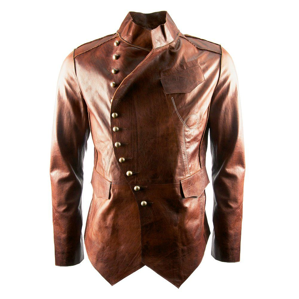 Light Brown Leather Jackets For Men Tan leather jacket