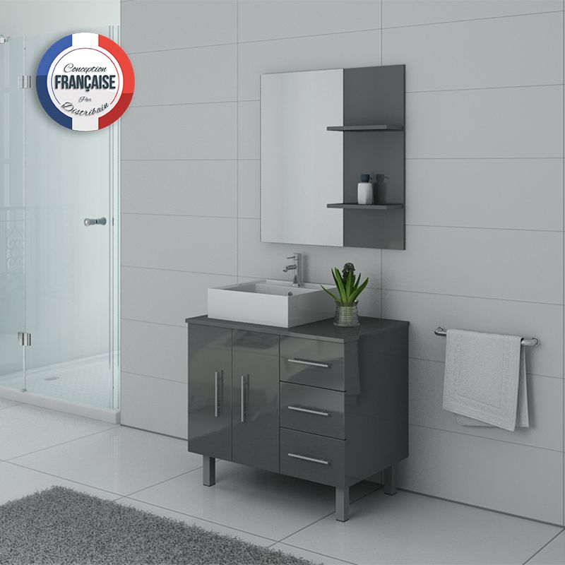 Meubles salle de bain FLORENCE Gris Taupe