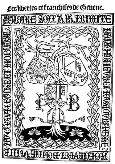 L'origine des armoiries genevoises