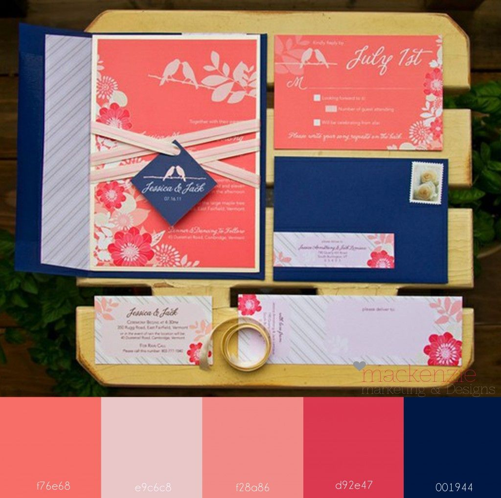 coralnavy | Wedding Ideas | Pinterest | Color pallets, Wedding and ...