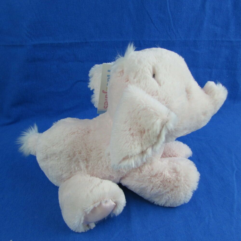 Satin Inside Ears And On Bottoms Of Feet Approx 11 Nose To Tail Soft And Cuddly Ebay Owl Pet Animal Plush Toys Elephant Plush [ 1000 x 1000 Pixel ]