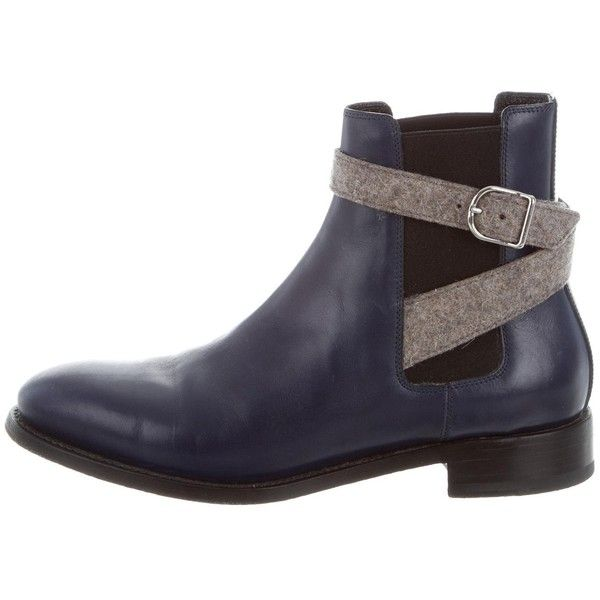 Clearance Wiki Pre-owned - Grey Leather Boots Balenciaga Latest Collections Cheap Price Outlet Extremely Good Selling quSlV
