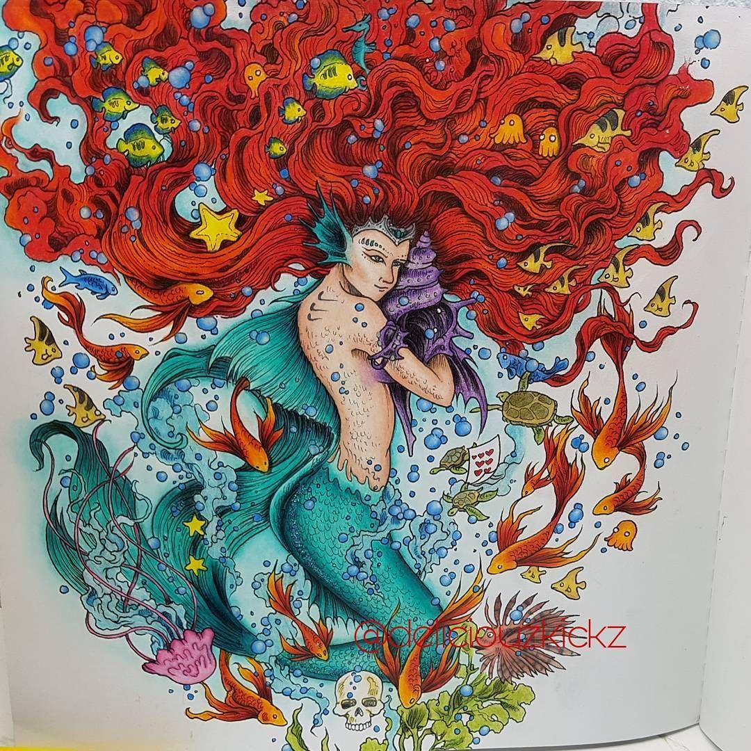 Deliciouzkickz Auf Instagram Finished My Little Mermaid