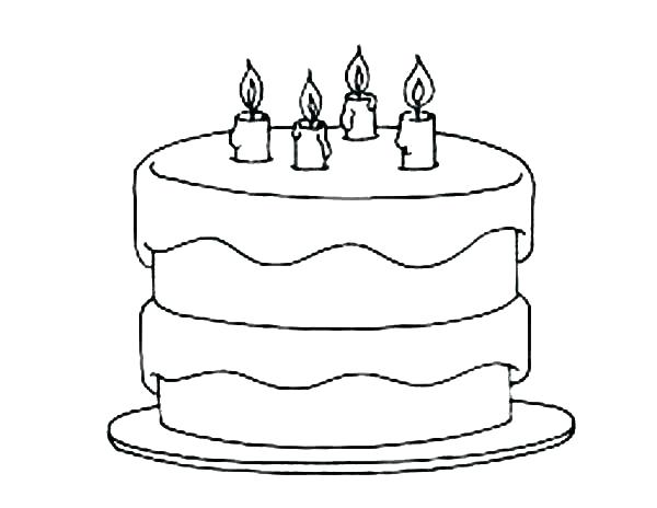 Cake Coloring Pictures Google Search Cupcake Coloring Pages Birthday Coloring Pages Birthday Cake With Candles