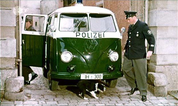 c36c487fce 1957 Volkswagen Kombi Polizei  Typ 2   T1