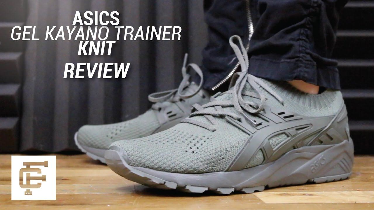 large discount online shop on feet images of ASICS GEL KAYANO TRAINER KNIT REVIEW | Shoessuko